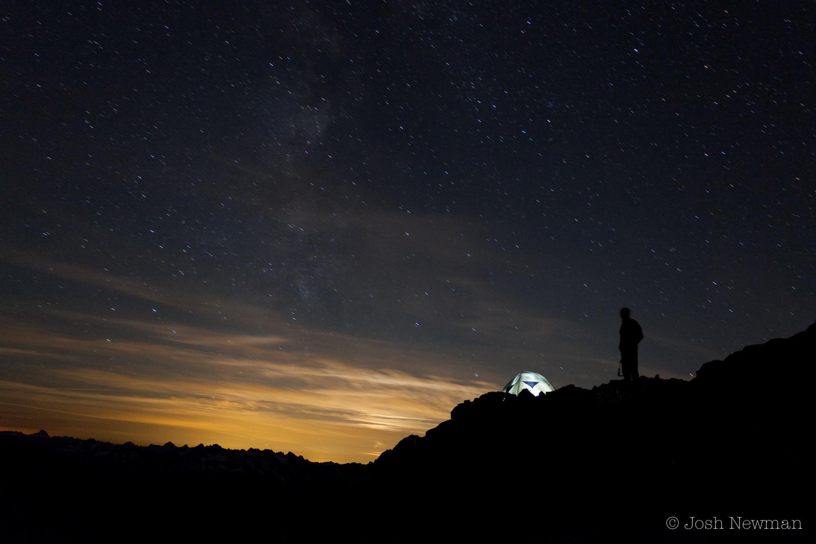 Sahale Moonrise