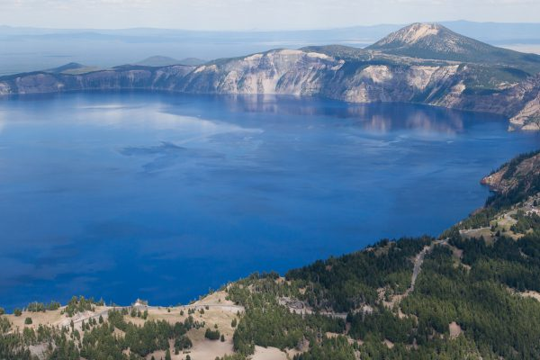 #craterlake #oregon #aerial #aircam #westfromabove #earthpix