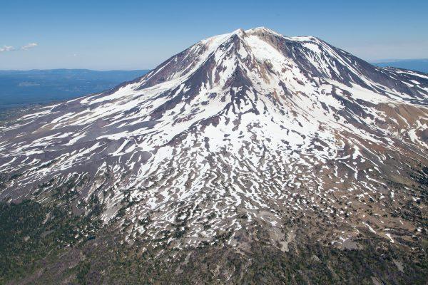 #mtadams #aircam #aerial #mountain #volcano #westfromabove